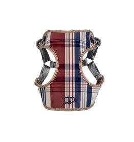 Pretty Paw Designer Harness Blue Oxford
