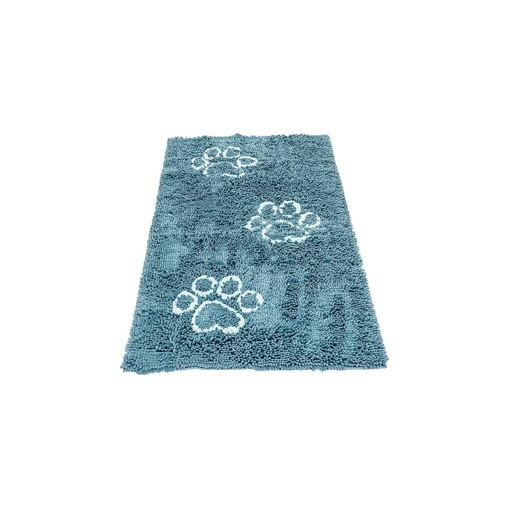 """Dog Gone Smart Dirty Dog Doormat Floor Runner Pacific Blue 60x30"""""""