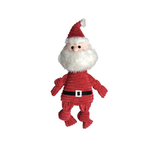 Fou Fou Dog Fou Fou Dog Knotted Toy Santa Large