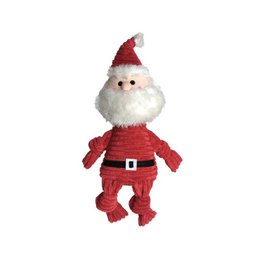 Fou Fou Dog Fou Fou Dog Knotted Toy Santa Small