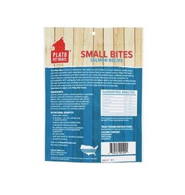 Plato Pet Treats Small Bites Salmon 4oz