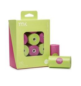 Modern Pet Brands Modern Pet Brand Poop Bags Green & Pink 240ct