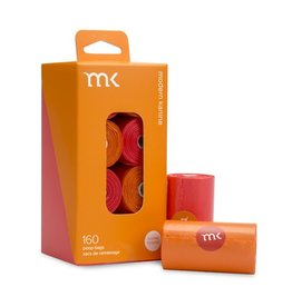 Modern Pet Brands Modern Pet Brand Poop Bags Orange & Coral 160ct