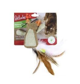 Petlinks Petlinks Natural Prey Feathered Crinkle Toy
