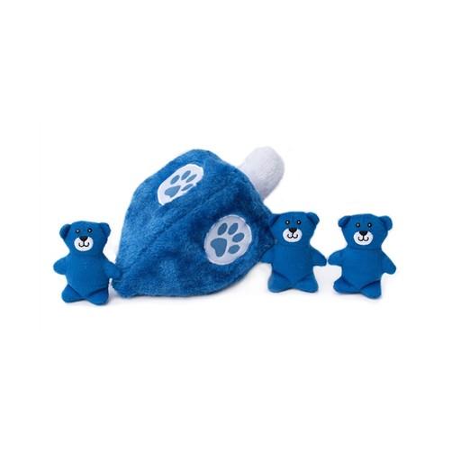 Zippy Paws Zippy Paws Hanukkah Burrow Dreidel Plush Toy