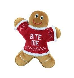 Huxley & Kent Huxley & Kent Plush 'Bite Me' Gingerbread Man Small