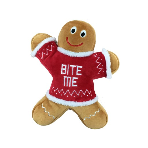 Huxley & Kent Huxley & Kent Plush 'Bite Me' Gingerbread Man Large
