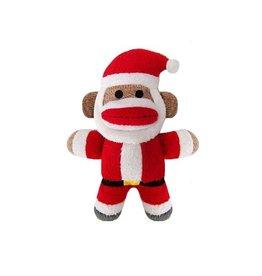 Huxley & Kent Huxley & Kent Holiday Sock Monkey Baby Jolly Santa