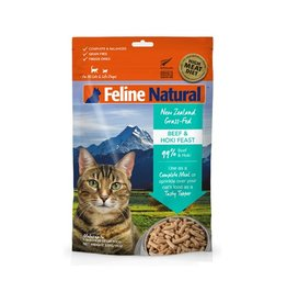 K9 Natural K9 Feline Natural Freeze Dried Beef & Hoki 320g