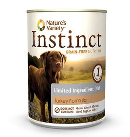 Nature's Variety Instinct Canine Can LID Turkey 13.2oz