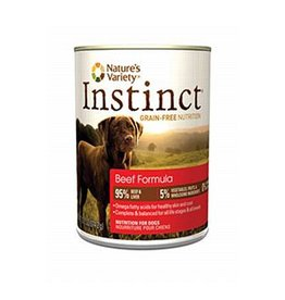 Nature's Variety Instinct Canine Can Beef 13.2oz