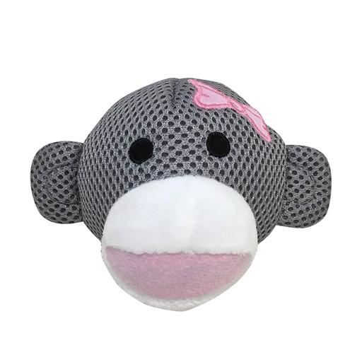 Fou Fou Dog Fou Fou Heritage Monkey Emoji Girl with Bow