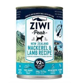ZiwiPeak ZiwiPeak Daily Cusine Dog Can Mackerel & Lamb 390g