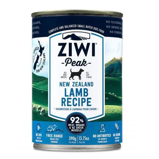 ZiwiPeak ZiwiPeak Daily Cusine Dog Can Lamb 390g
