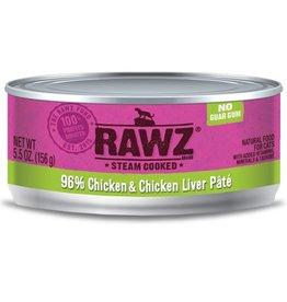 Rawz Cat Can Chicken & Chicken Liver 5.5oz