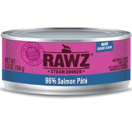 Rawz Cat Can Salmon 5.5oz