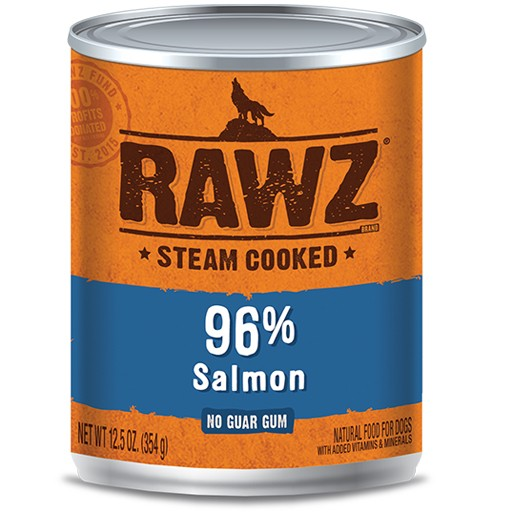 Rawz Dog Can 96% Salmon 12oz