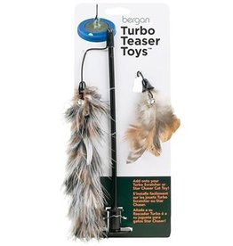 Bergan Pet Bergan Pet Feather Teaser For Turbo Scratcher & Star Chaser