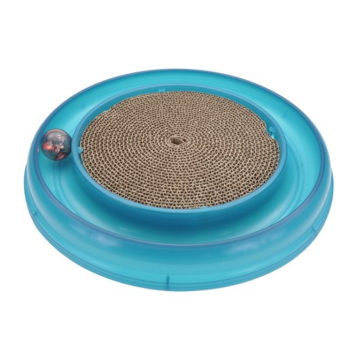 Bergan Pet Bergan Turbo Scratcher With Ball & Scratch Pad Centre