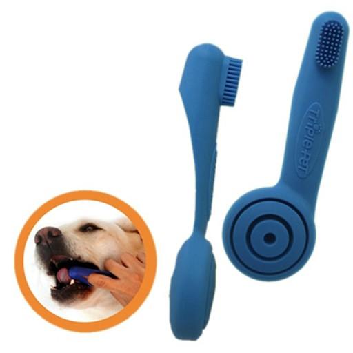 Enviro Fresh Triple Pet Finger Brush