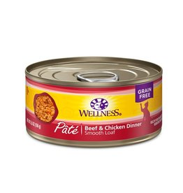 Wellness Wellness Cat Can Beef & Chicken 5.5oz