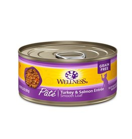 Wellness Wellness Cat Can Turkey & Salmon 5.5oz
