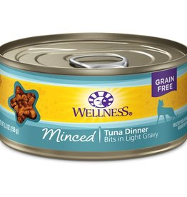 Wellness Wellness Cat Can Tuna Dinner Minced 5.5oz