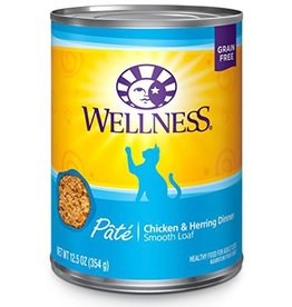 Wellness Wellness Cat Can Chicken & Herring 12.5oz