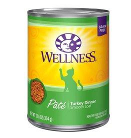 Wellness Wellness Cat Can Turkey 12.5oz