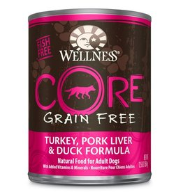 Wellness Wellness Dog CORE Can Turkey, Pork Liver, Duck 12.5oz