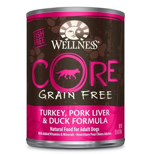 Wellness Wellness Dog CORE Can Turkey, Pork Liver, Duck 12.5oz