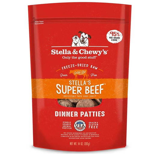 Stella & Chewy's Stella & Chewy's Freeze Dried Super Beef Dinner 5.5oz