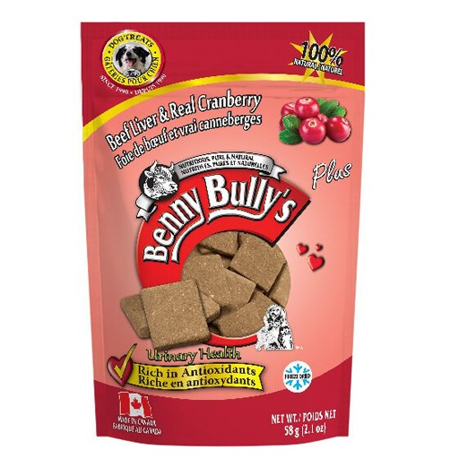 Benny Bully's Beef Liver Plus Cranberry 58g