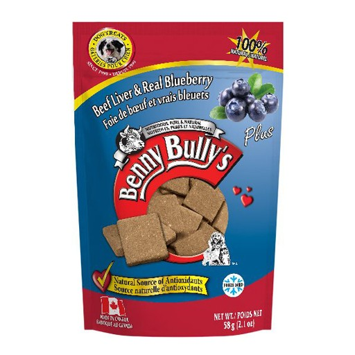 Benny Bully's Beef Liver Plus Blueberry 58g