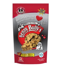 Benny Bully's Beef Liver Plus Heart Cat Treats