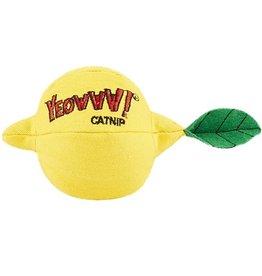 Yeowww Sour Puss Lemon Catnip Toy