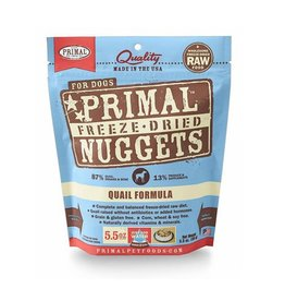 Primal Freeze Dried Canine Quail 5.5oz
