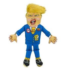 Fuzzu Fuzzu Presidential Parody Donald Dog Toy