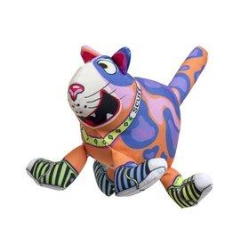 Fuzzu Fuzzu That Sneaky Cat! Scuff Dog Toy Large