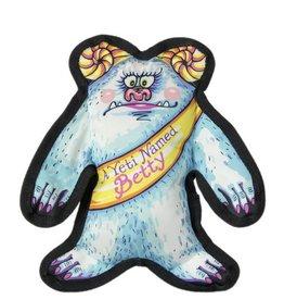Fuzzu Fuzzu Wild Woodies A Yeti Named Betty Dog Toy
