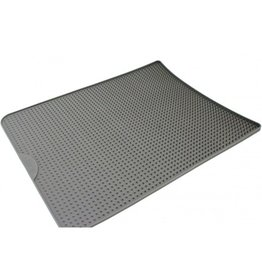 Messy Mutts Messy Cats Silicone Litter Mat Grey