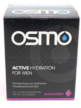 OSMO Active Hydration for Men (single serving) - Blackberry