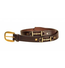 Tory Leather Bit Belt