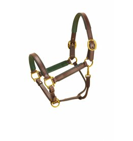 Tory Leathers Padded Leather Halter