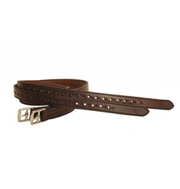Tory Leathers Nylon Lined Half-Hole Stirrup Leathers