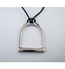Michel McNabb Large Stirrup Necklace