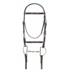 Camelot Fancy Stitched Raised Bridle