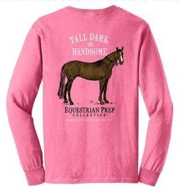 Equestrian Prep Eq Prep Tall, Dark, & Handsome Long Sleeve Tee