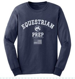 Equestrian Prep Eq Prep Collegiate Long Sleeve Tee