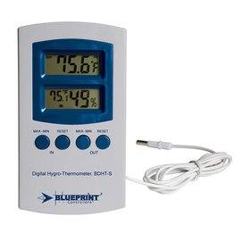 Blueprint Blueprint Controllers Digital Hygro-Thermometer Small, BDHT-S